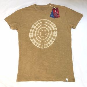 New Tentree Punica Brown Tree Ring T Shirt